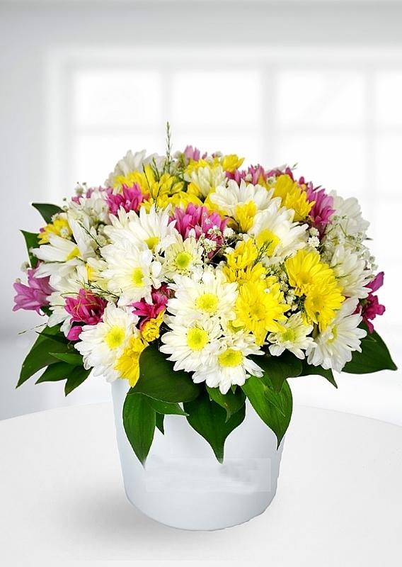 kır çiçeği aranjmanı